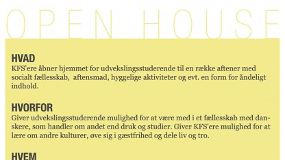 Event: Open House
