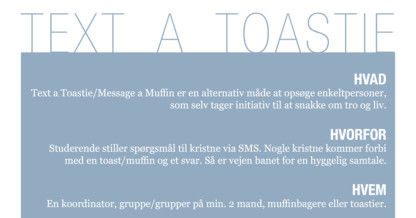 Event: Text a Toastie